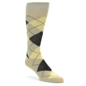 20060-kahki-cream-yellow-dark-grey-argyle-mens-dress-sock-vannucci01