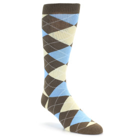 20116-brown-tan-light-blue-argyle-mens-dress-sock-with-white-elephants-oberon-socks01