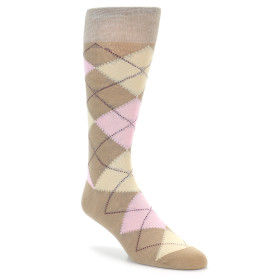 20125-tan-beige-pink-argyle-mens-dress-sock-vannucci01