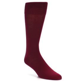 20151-maroon-solid-color-mens-dress-sock-vannucci01
