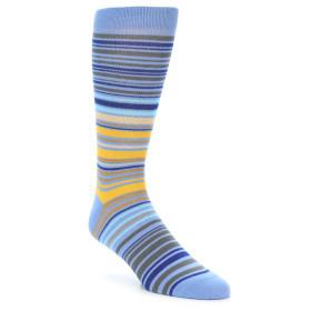 20180-Various-Blues-Yellow-Tan-Mens-Stripe-Dress-Sock-Ozone-Socks01