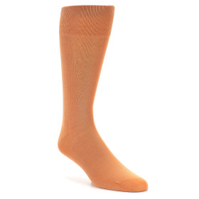 20196-peach-solid-color-mens-dress-sock-vannucci01