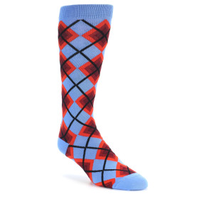 20262-blue-various-reds-argyle-mens-dress-sock-ozone-socks01