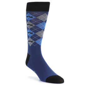 20655-blue-grey-argyle-mustache-pattern-mens-dress-sock-sock-it-to-me01