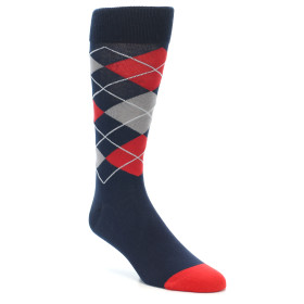 20944-Blue-Red-Grey-Argyle-Mens-Dress-Sock-MoxyMaus01