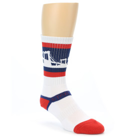 21274-navy-red-white-brooklyn-city-men's-athletic-crew-socks-strideline01