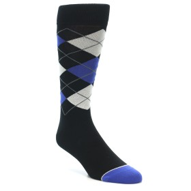 21466-Black-Blue-Grey-Argyle-Men's-Dress-Socks-MoxyMaus01