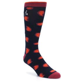 21528-Navy-Orange-Pink-Paisley-XL-Men's-Dress-Socks-Argoz01