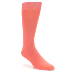 21553-coral-solid-color-men's-dress-socks-boldsocks01
