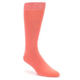 21553-coral-solid-color-men's-dress-socks-boldsocks01