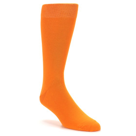 21556-tangerine-orange-solid-color-men's-dress-socks-boldsocks-01