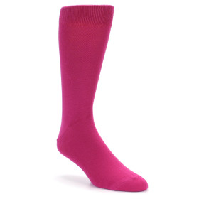 21561-watermelon-pink-solid-color-men's-dress-socks-boldsocks01