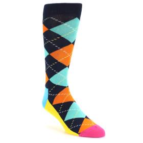 21577-navy-orange-blue-argyle-men's-dress-socks-happy-socks01