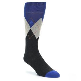 21602-Grey-Blue-Argyle-Men's-Dress-Socks-Original-Penguin01