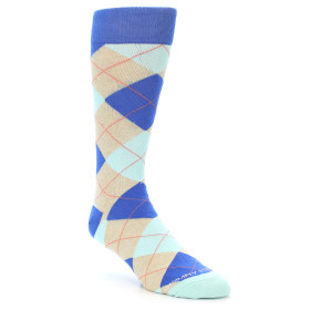 21619-Blues-Grey-Argyle-Men's-Dress-Socks-Unsimply-Stitched01