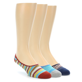 21634-blue-grey-red-stripe-men's-no-see-um-3-pack-socks-pact01