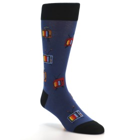 21654-blue-tv-pattern-men's-dress-socks-mod-sock01