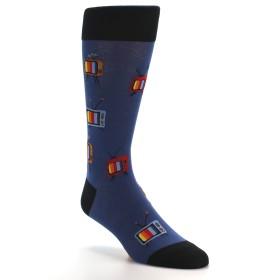 21654-blue-tv-pattern-men's-dress-socks-mod-sock01