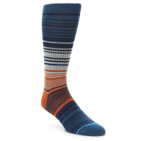 21696-Blue-Grey-Orange-Men's-Crew-Socks-STANCE01