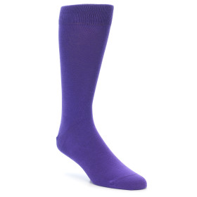 21730-Viola-Purple-Solid-Color-Men's-Dress-Socks-boldSOCKS01