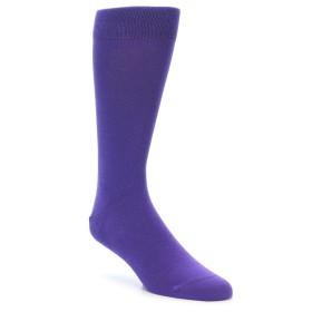 21730-Viola-Purple-Solid-Color-Men's-Dress-Socks-boldSOCKS01