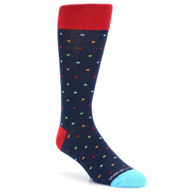 21739-dark-blue-multi-color-polka-dot-men's-dress-socks-unsimply-stitched01