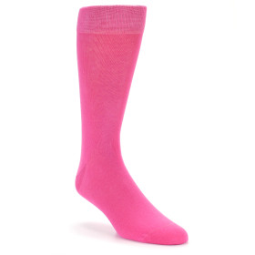 21774-hot-pink-solid-color-men's-dress-socks-boldsocks01