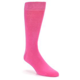 21774-hot-pink-solid-color-men's-dress-socks-boldsocks01