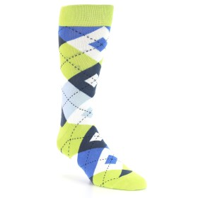 21776-lime-blue-argyle-men's-dress-socks-statement-sockwear01