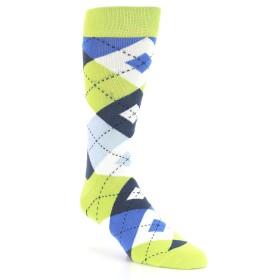 21776-lime-blue-argyle-men's-dress-socks-statement-sockwear01