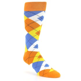 21777-orange-blue-yellow-argyle-men's-dress-socks-statement-sockwear01