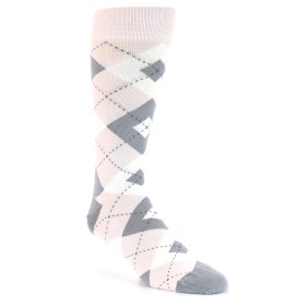 21778-petal-pink-grey-argyle-men's-dress-socks-statement-sockwear01