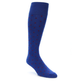 21800-blue-red-polka-dot-men's-over-the-calf-dress-sock-zkano01