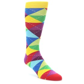 21805-multi-color-argyle-men's-dress-socks-ballonet-socks01