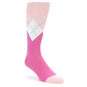 21823-Pinks-White-Argyle-Men's-Dress-Socks-Original-Penguin01