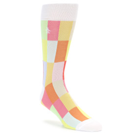 21825-White-Multi-Checkered-Men's-Dress-Socks-Original-Penguin01