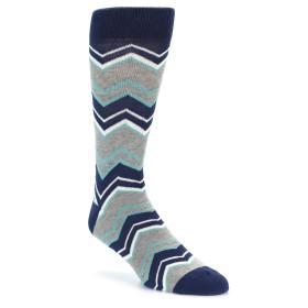 21830-Navy-Grey-Zig-Zag-Stripe-Men's-Dress-Socks-PACT01