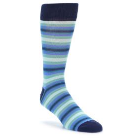 21831-Navy-Blues-Seafoam-Stripe-Men's-Dress-Socks-PACT01