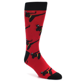 21843-Red-Black-Ninja-Men's-Dress-Socks-Sock-It-To-Me01