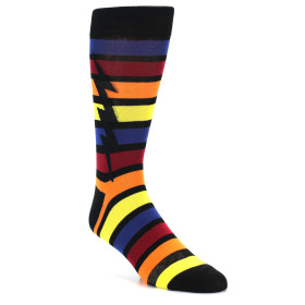 21845-Multi-Color-Stripe-Bolt-Men's-Dress-Socks-Sock-It-To-Me01