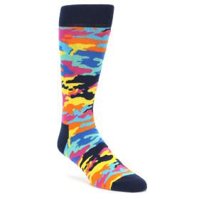 21864-Multi-Color-Camo-Men's-Dress-Socks-Happy-Socks01