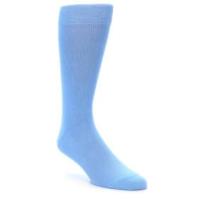 21883-Cornflower-Blue-Solid-Color-Men's-Dress-Socks-boldSOCK01