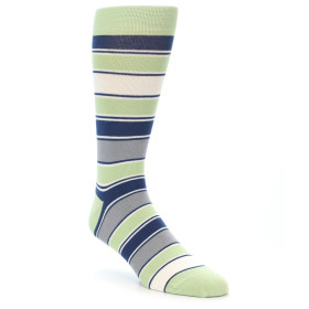 21892-Pistachio-Green-Stripe-Men's-Dress-Socks-Statement-Sockwear01