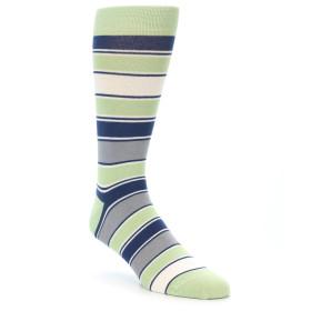 21892-Pistachio-Green-Stripe-Men's-Dress-Socks-Statement-Sockwear01