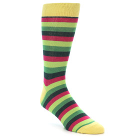 21904-Greens-Pink-Stripe-Men's-Dress-Socks-Gallant-Beau01