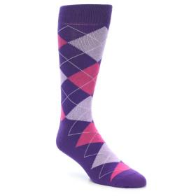 21915-Purples-Pink-Argyle-Men's-Dress-Socks-Gallant-&-Beau01