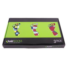 boldSOCKS Gift Box Apple Red