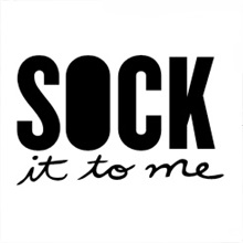 Sock it to me socks logo