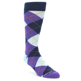 21937-Purple-Light-Blue-Argyle-Men's-Dress-Sock-Unsimply-Stitched01