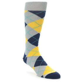 21939-Grey-Gold-Navy-Argyle-Men's-Dress-Sock-Unsimply-Stitched01